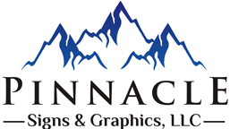 Usaf Academy Sign Company Pinnacle Signs Logo
