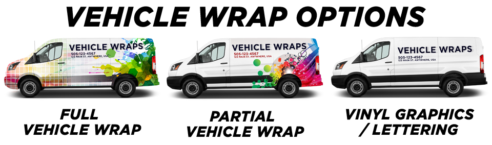 Monument Vehicle Wraps vehicle wrap options